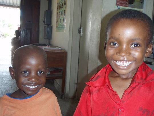 Two children successfully treated