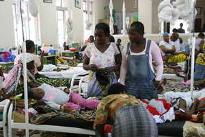 Pediatric ward (Dar es Salaam, Tanzania)