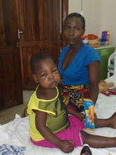 Mother and daughter with Burkitt lymphoma