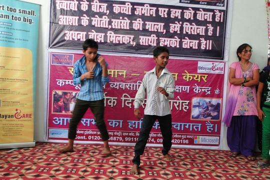 Dadri Center celebrating on its FIRST ANNIVERSARY