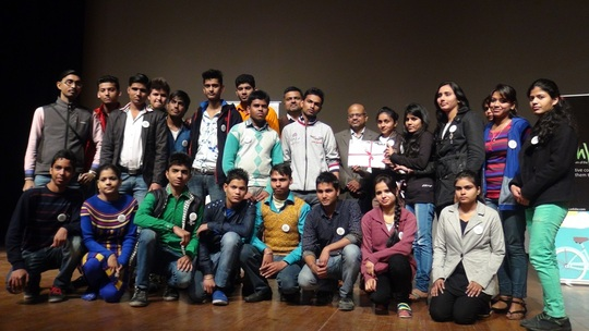 Our IT students at the FICCI auditorium