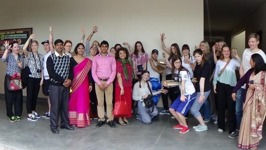 Sweden Delegation at our IT centre