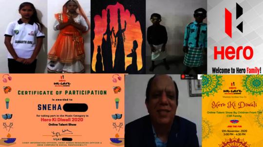 Hero ki Diwali competition