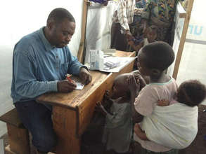 Merlin Measles Vaccination campaign, Goma, DRC