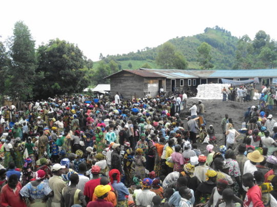 Merlin response in Goma.