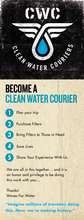 Become a Clean Water Courier