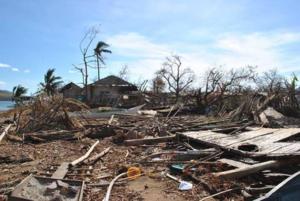 Destruction in Busuanga