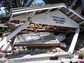Destruction after Typhoon Ketsana