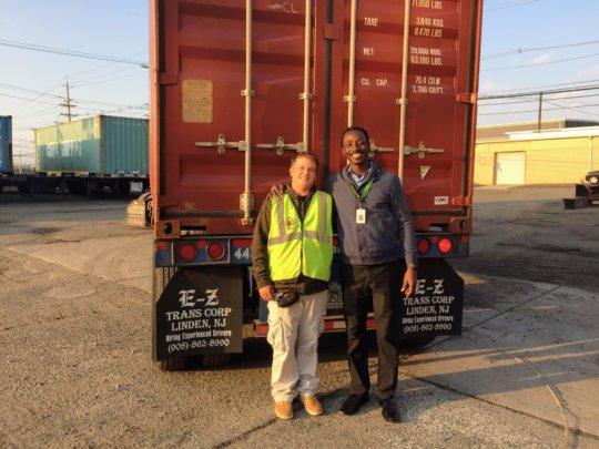 Shipping out lifesaving cargo