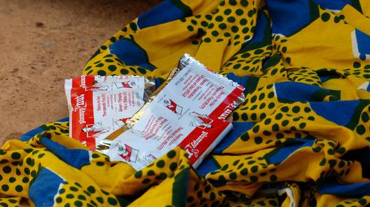 Plumpy'Nut made by Edesia in Burkina Faso