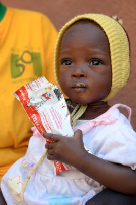 Lifesaving Plumpy'Nut for Children in the Sahel