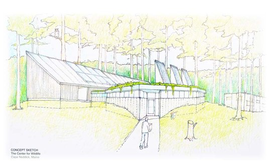 Concept Sketch of Medical Clinic/ Education Center