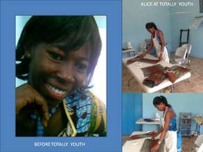 Alice Before and Now at Totally Youth