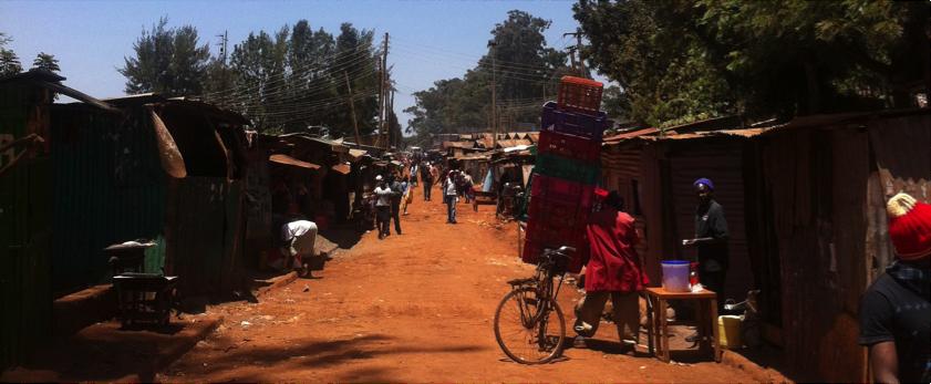 Nairobi slum where new CFW clinic will be located