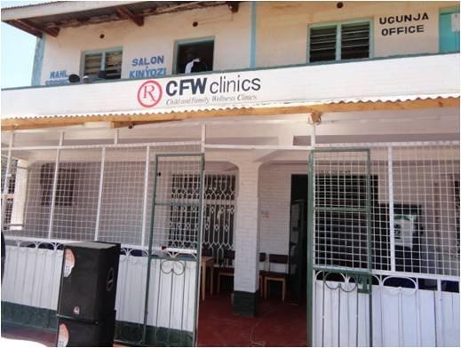 CFW--new clinic in Ugunja