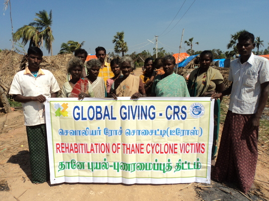 GLOBAL GIVING AIDED THANE VICTIMS