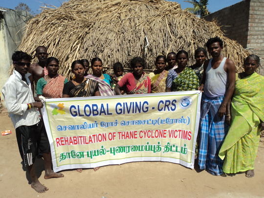 GLOBAL GIVING AIDED THANE VICTIMS TRAINING