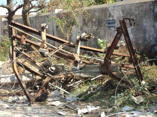 TRANSFORMER FULLY DESTROYED BY THANE