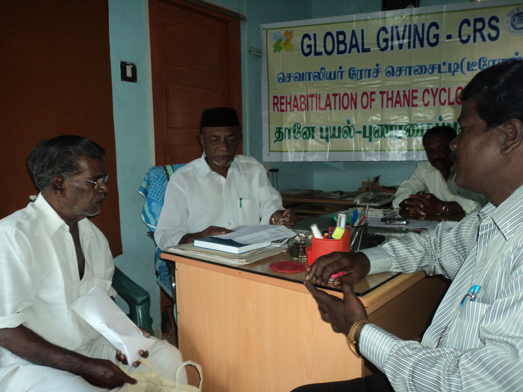 Group counseling at town Panchayat Office