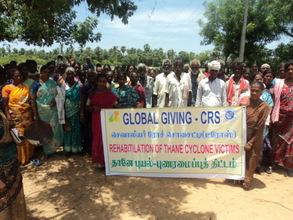 Disaster Management Training on Manakkupam village