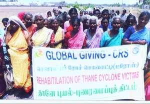 Disaster training at Reddy Chavadi Village
