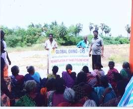 Disaster training at Sethukattu palayam village