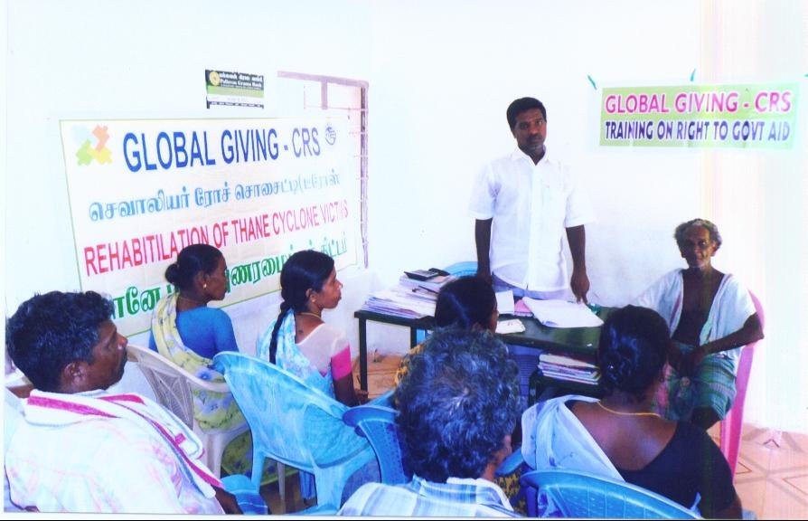 TRAINING ON RIGHT TO GOVT. AID