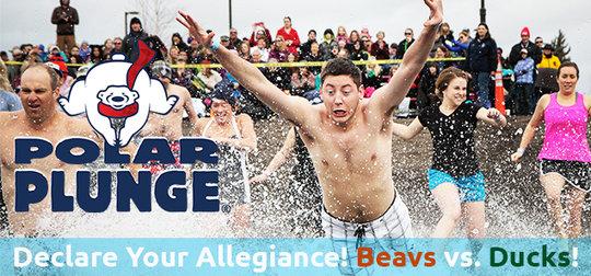 Register for the 2015 Polar Plunge!