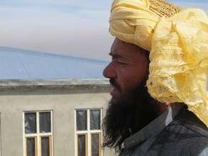 Meet Sher Agha, who accompanied the UNHCR team.