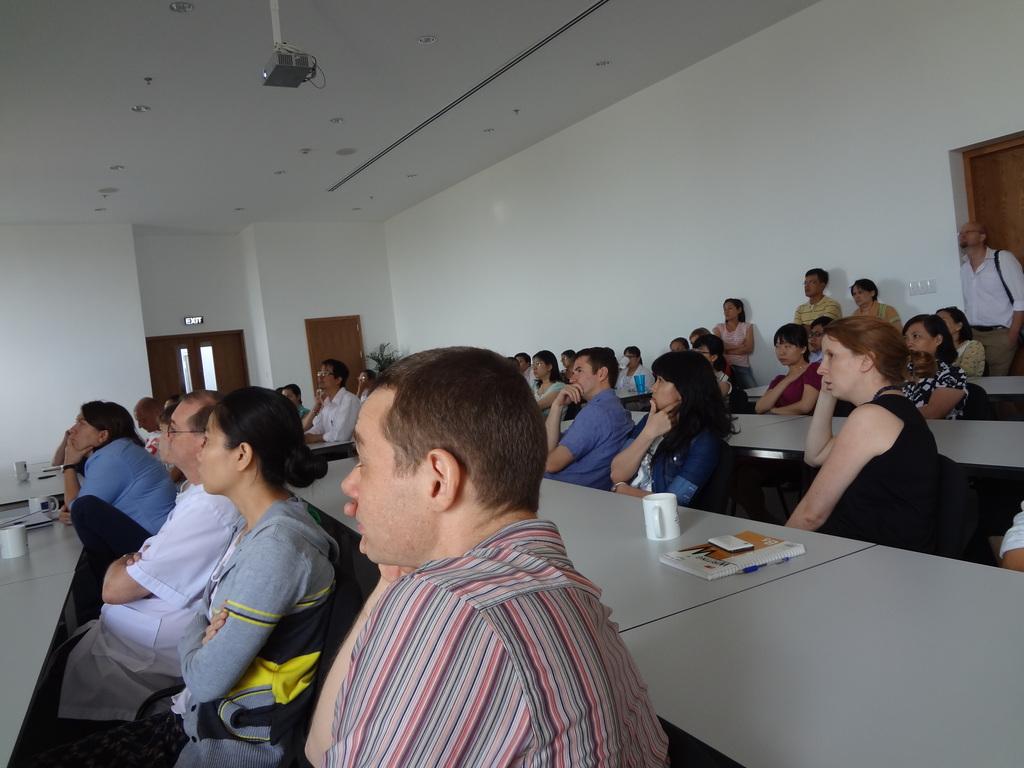 Oxford Uni. Clin. Res. Unit presentation audience