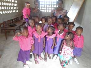 Children enrolled in the day care centre