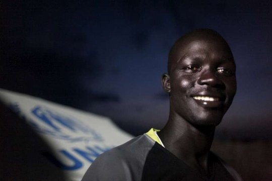 UNHCR South Sudanese staff member Ojulu Jodo