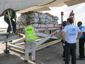 UNHCR is Airlifting Aid to South Sudan