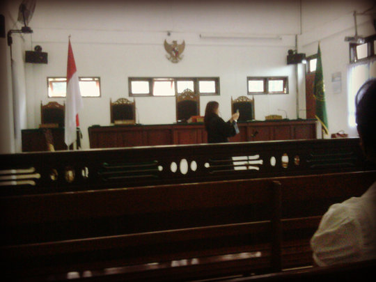 Indonesian Courtroom