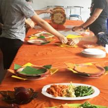 Thanksgiving at Sarah's House