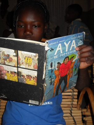 Aya books provide strong female role models