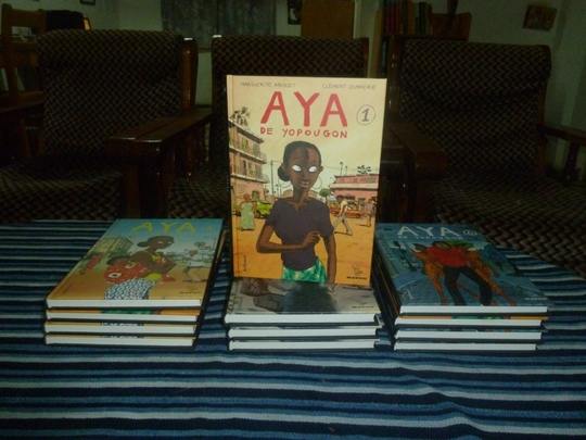 New Aya books ready to be sent to village
