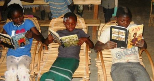 Provide an African Village Library with Aya Books
