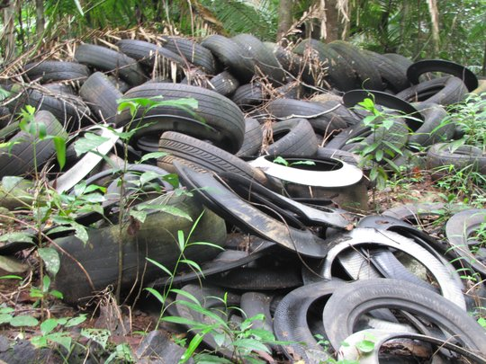 tyres recycled into children