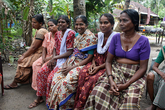 Women villagers share views on water issues
