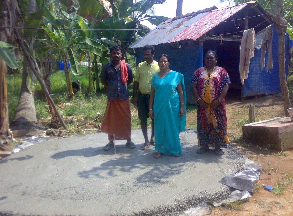 Our 9th water user group! Sreedharan, Kidangil
