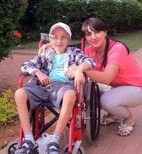Anatoli and his mom