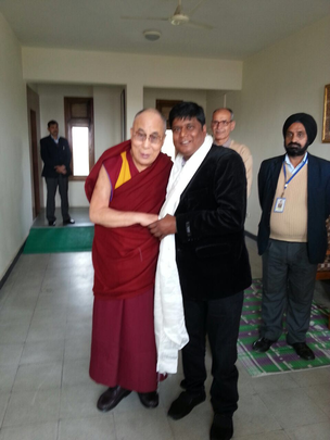 Our Chairman Deepak meets the Dalai Lama