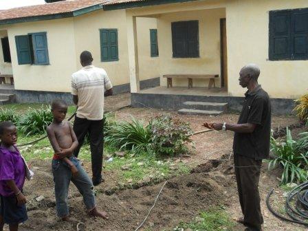 Solar energy for Madina Community Health Post
