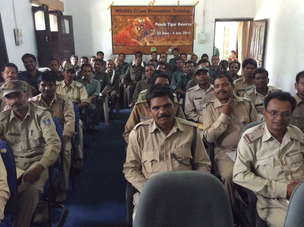 Wildlife Crime Prevention Training, Pench