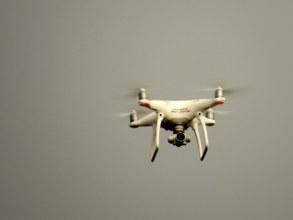 Quad-copter for surveillance
