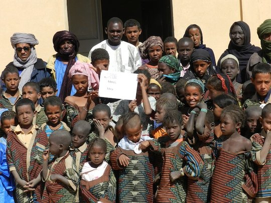 Basic nutrition for 100 school children in Mali