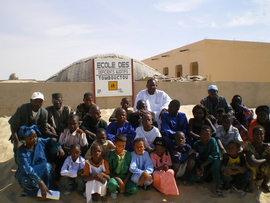 Educate hearing-impaired children in Timbuktu
