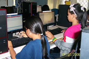 Students in the Computer TOT classes