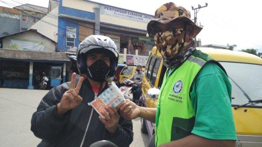 The hygiene kits distribution